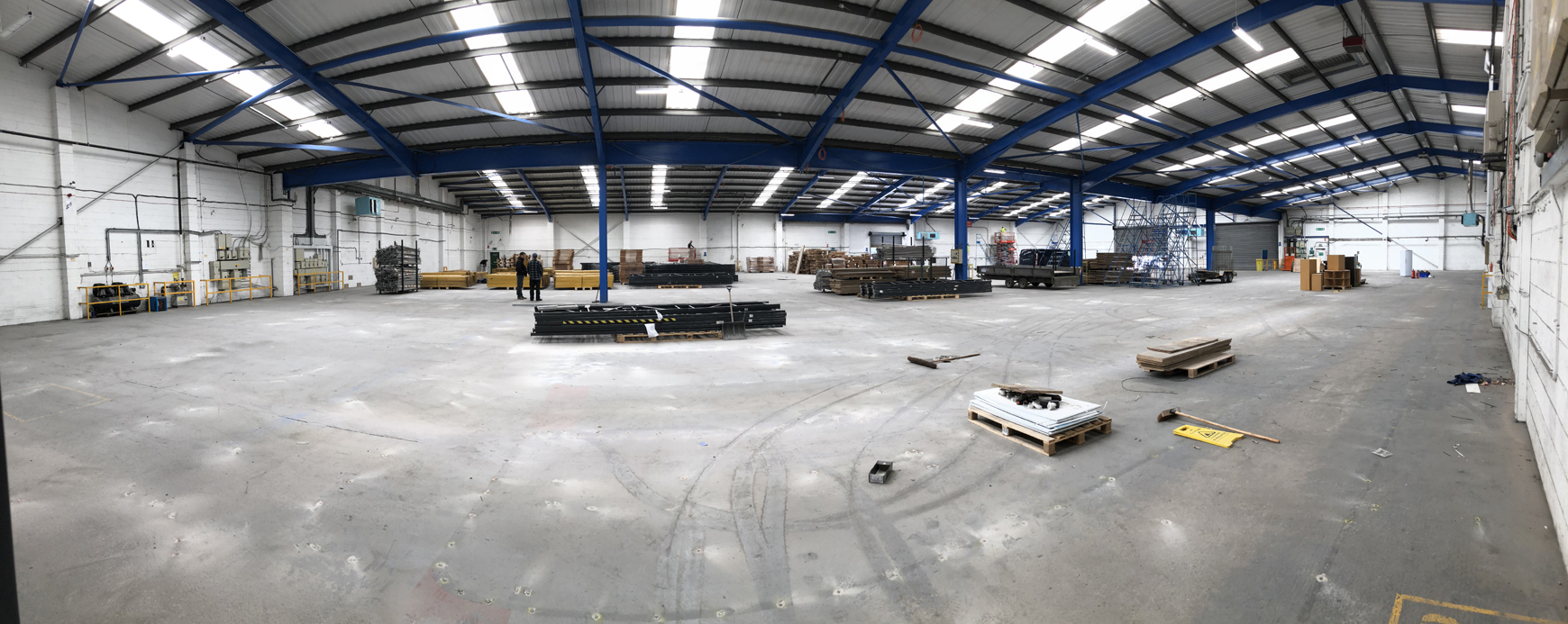 Prolight Concepts Warehouse Space