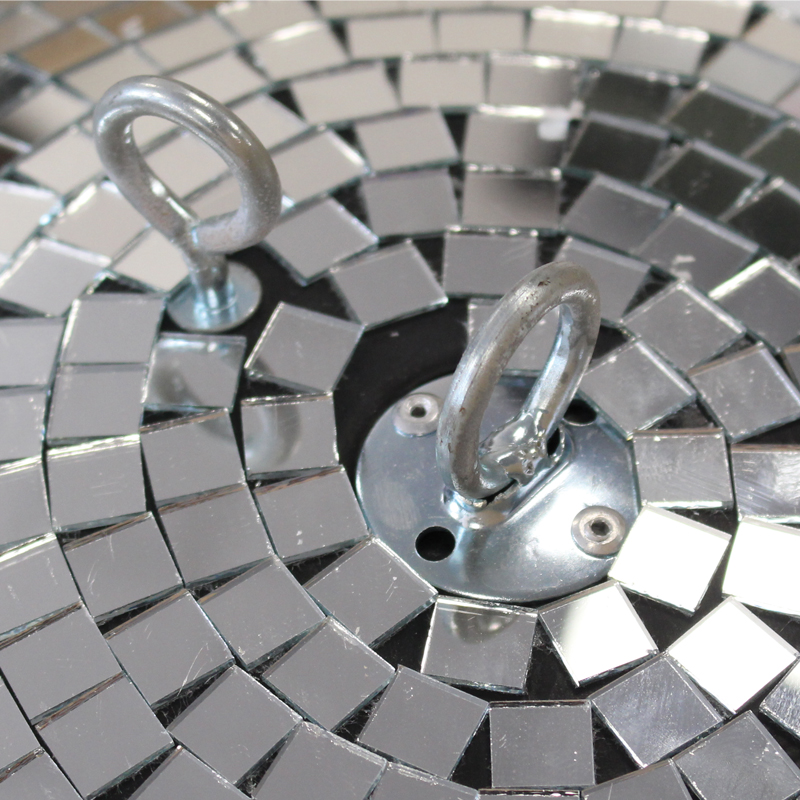 Close up of 30cm (12″) Mirror Ball