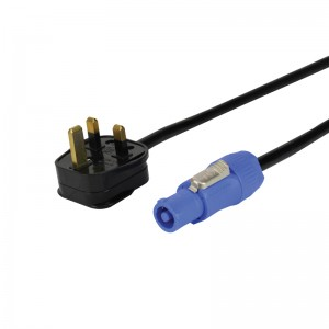 13A to Neutrik Powercon Cable 3m