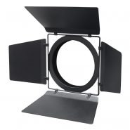 TZ 250F LED Zoom Fresnel Barn Doors