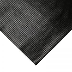 3mm COBArib Rubber Matting 10 x 1.2m Roll Fluted
