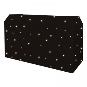 PRO DJ Booth LED Starcloth System, Cool White