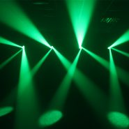 Vortex Moving Head Green Lights