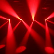 Vortex Moving Head Red Lights