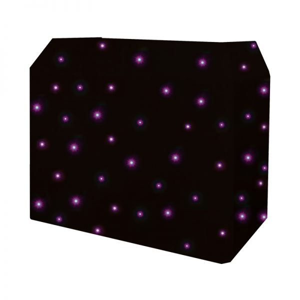 DJ Booth Quad LED Starcloth System
