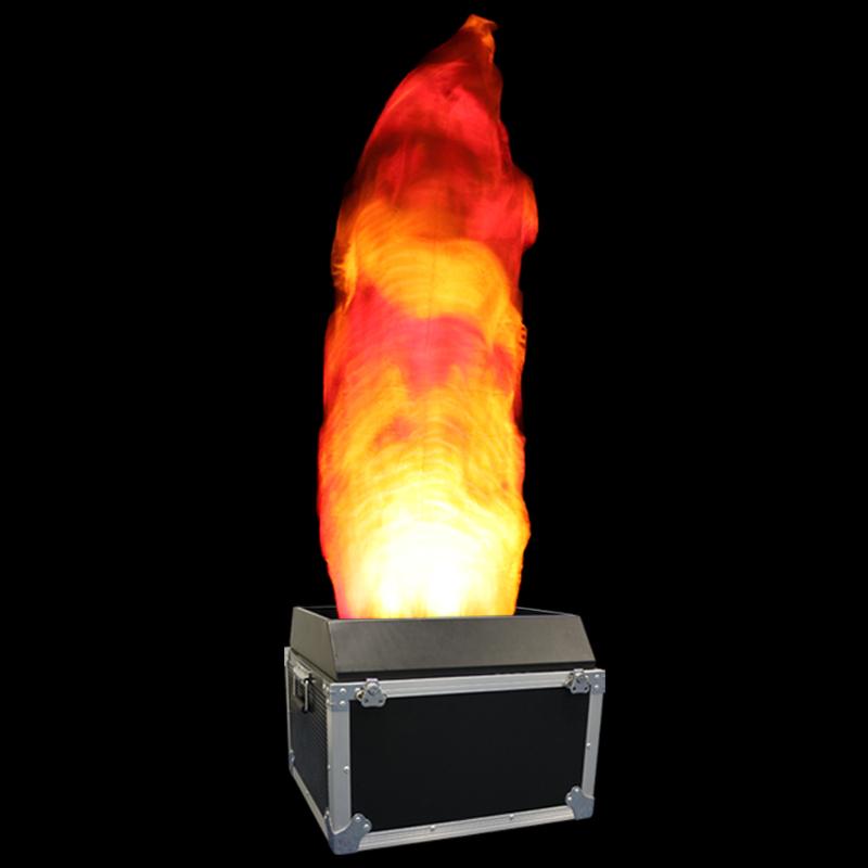 2.0m DMX RGBA Flame Machine Orange Flame