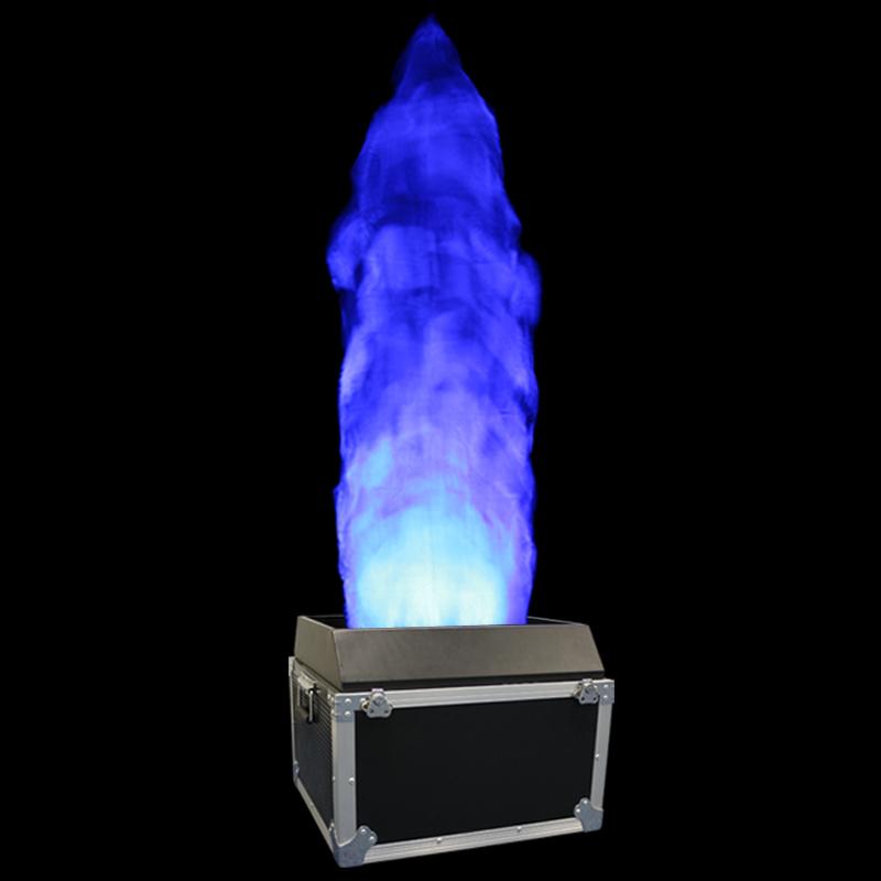 Blue flame 2.0m DMX RGBA Flame Machine