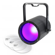 100W UV COB Flood with 25, 40 and 50 degree lenses