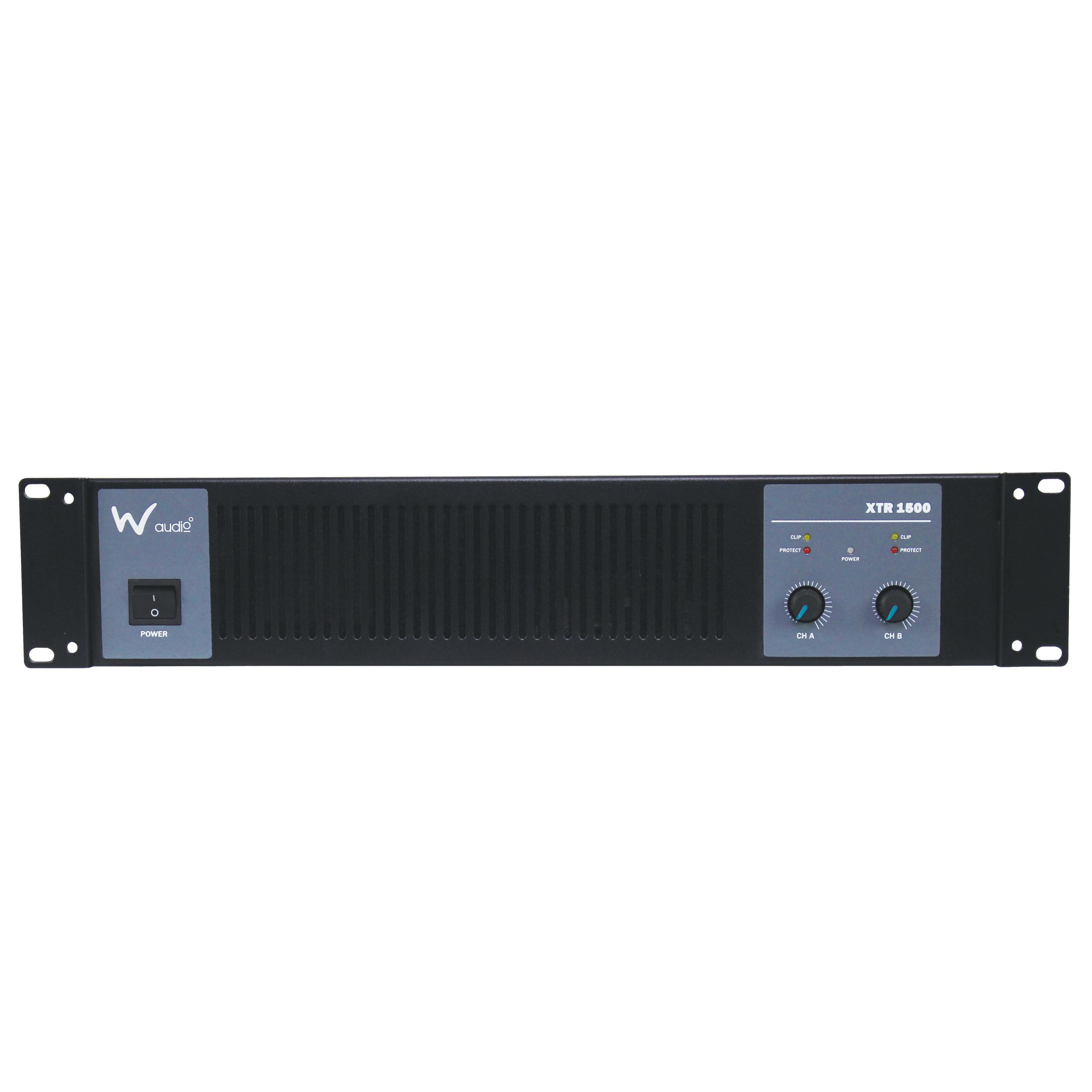 W Audio XTR 1500 Amplifier