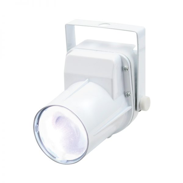 3W LED Pinspot (White Housing)