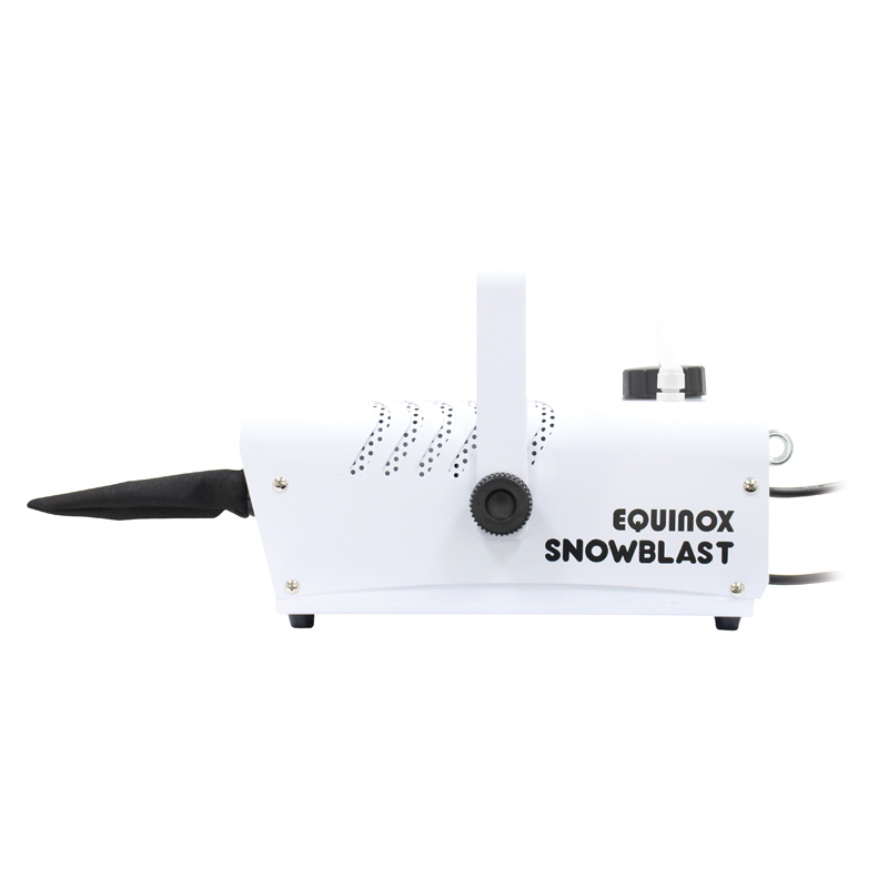 Snowblast Snow Machine Side View