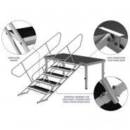 Stage Deck Set Up Diagram