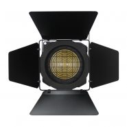 ZF 100 LED Zoom Fresnel CW Barn Doors