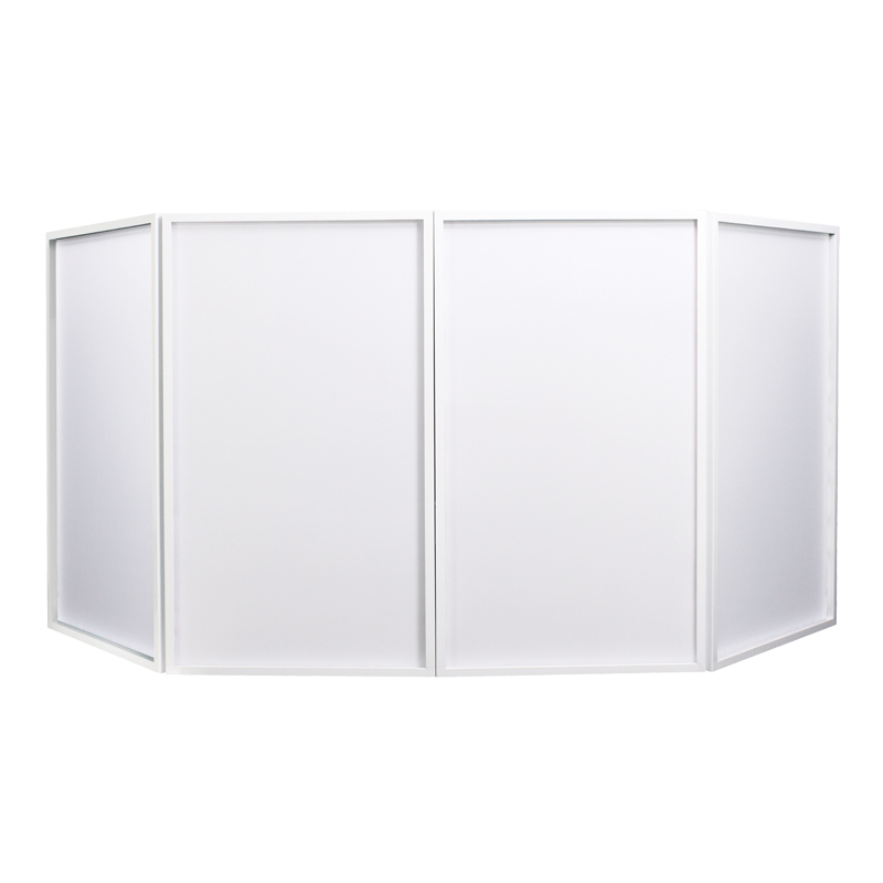 Foldable DJ Screen White MKII