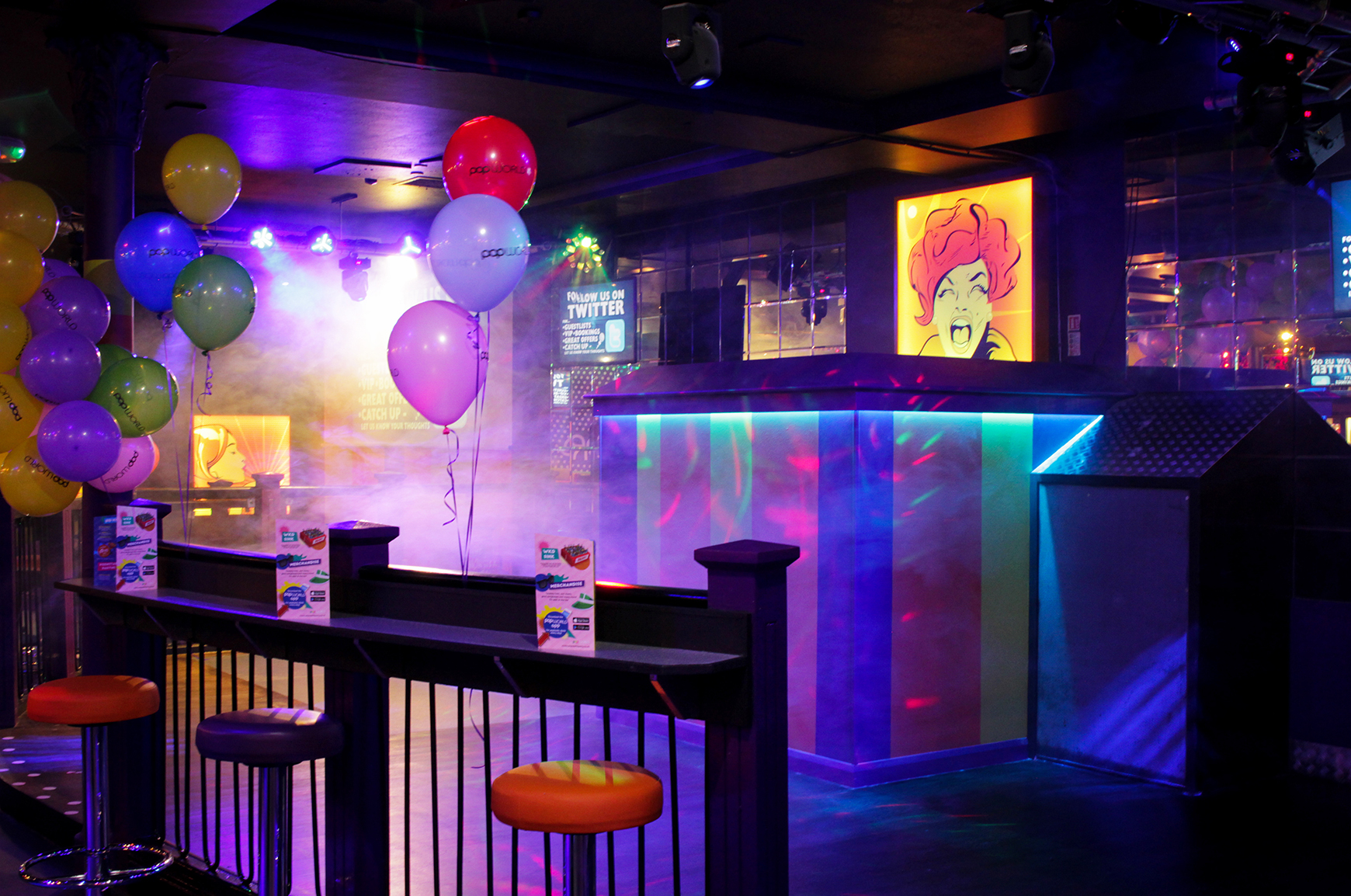 Popworld revamp with Equinox