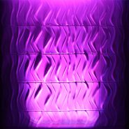 Quad Pix Batten Purple Wall Wash
