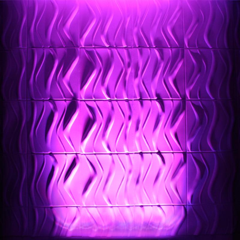 Quad Pix Batten Purple Wall Wash