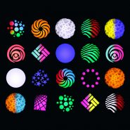 Midas Spot Coloured Gobos