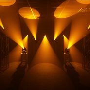 Midas Spot Orange Gobo Effects Lighting