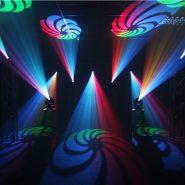 Midas Spot Multi Coloured Gobos