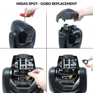 Midas Spot Moving Head Gobo Replacement