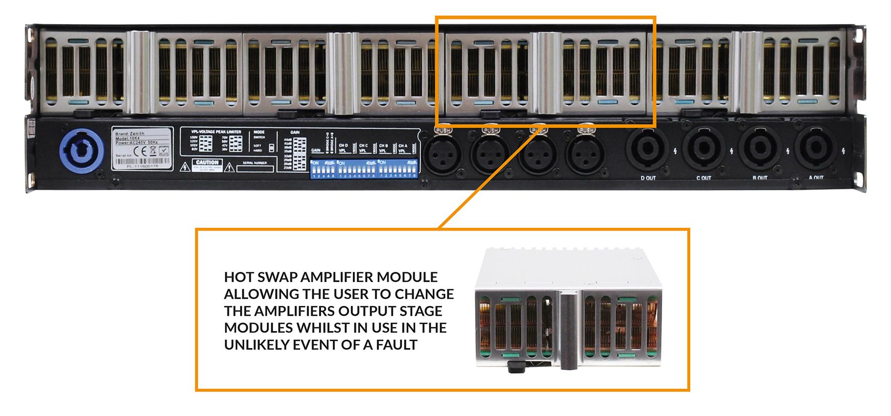 Zenith 10K4 Amplifiers at Alton Towers Resort