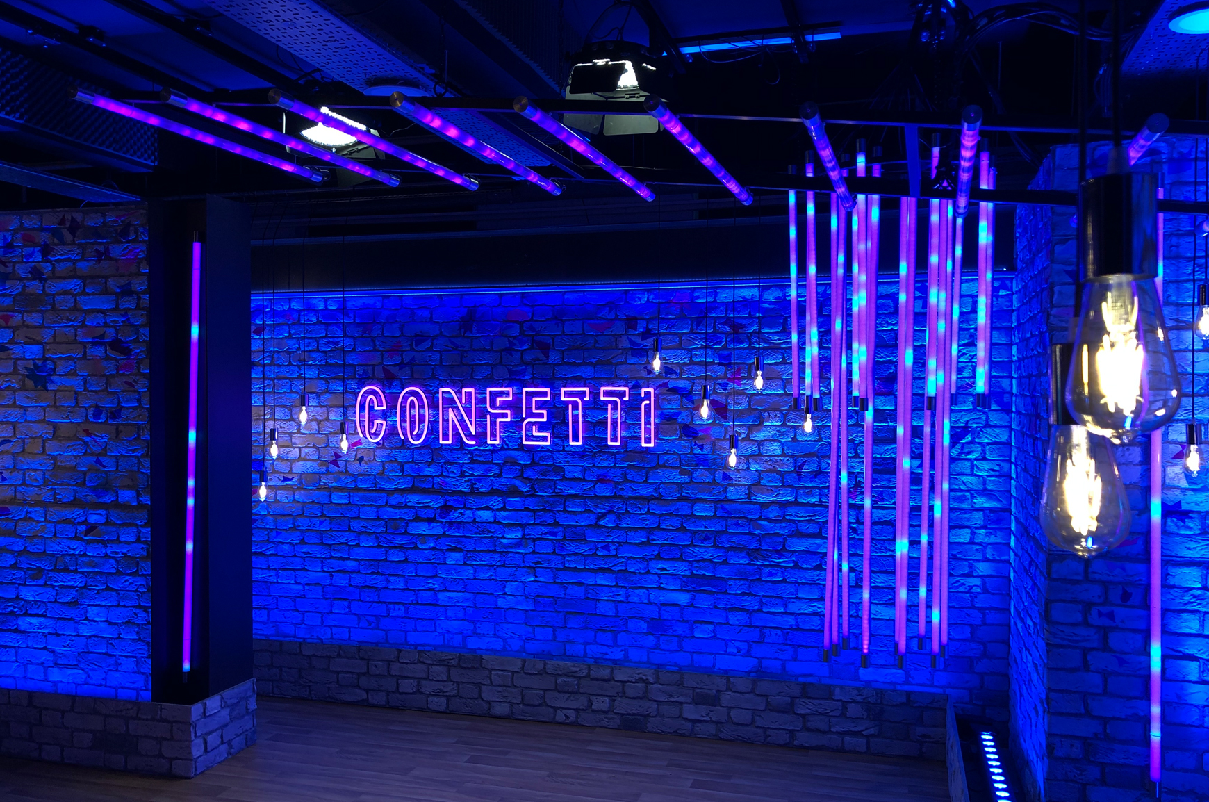 LEDJ launches Confetti UK