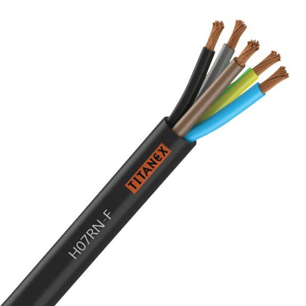 TITANEX H07-RNF 16mm 5 Core Rubber Cable
