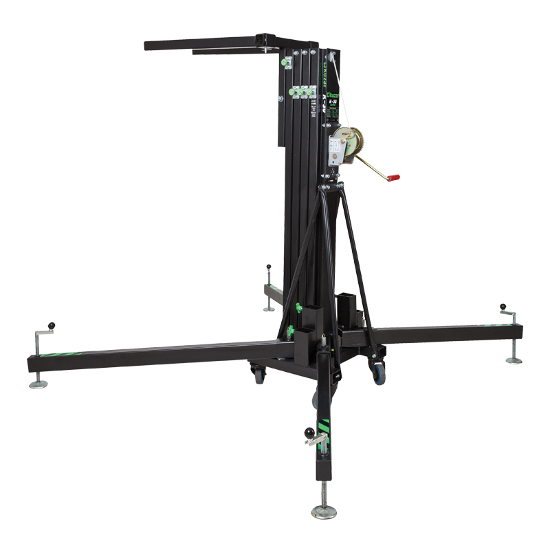 K-30 Front Loading Lifter 5m 180kg - A wind up stand by Kuzar