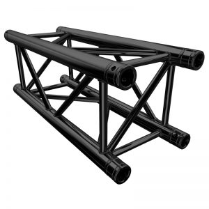 Global Truss F34 PL 0.75m Stage Black Truss (F34075PL-B)