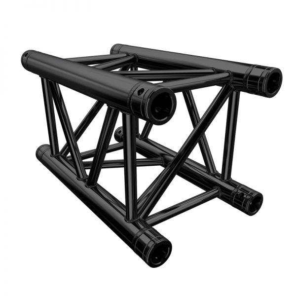 Global Truss F34 PL 0.5m Stage Black Truss (F34050PL-B)