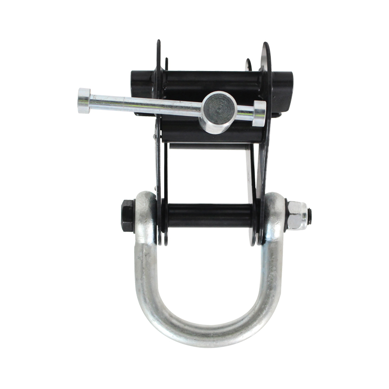 2 Ton Beam Clamp With Shackle Black Prolight Concepts