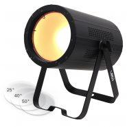 150W COB CW/WW Par with 25, 40 and 50 degree lenses