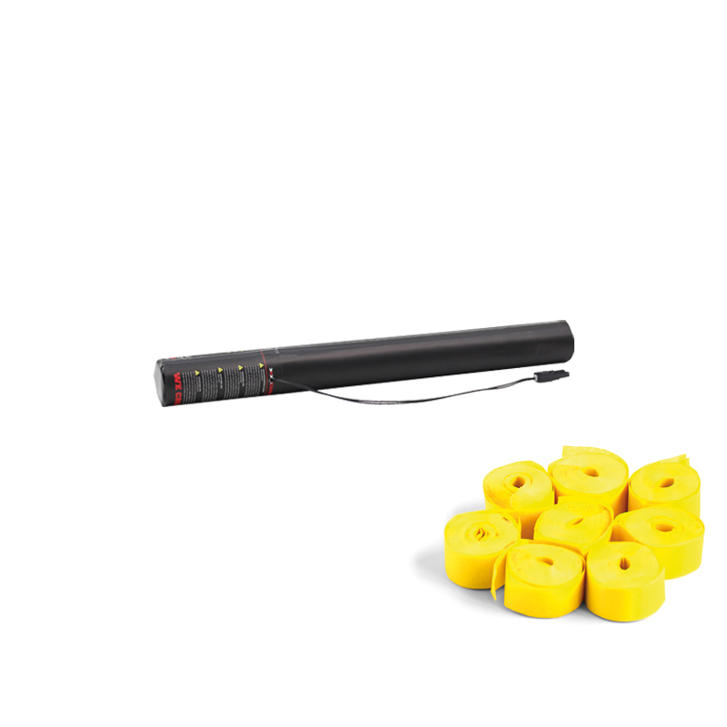 Electric Streamer Cannon 50cm Yellow