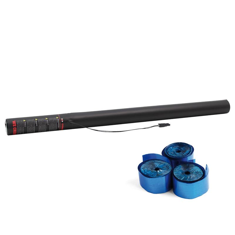 Electric Streamer Cannon 80cm Blue Metallic