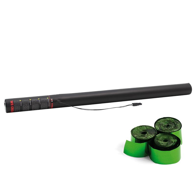 Electric Streamer Cannon 80cm Green Metallic