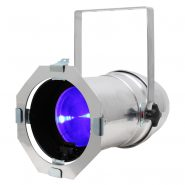Stage Par CZ 120 RGBA Polished Housing for use in theatres to provide stage lighting