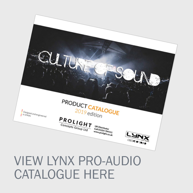 Lynx Pro-Audio Catalogue