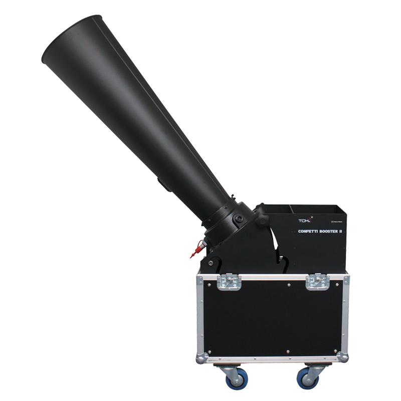 The Confetti Booster ll is a CO2 powered Confetti Cannon