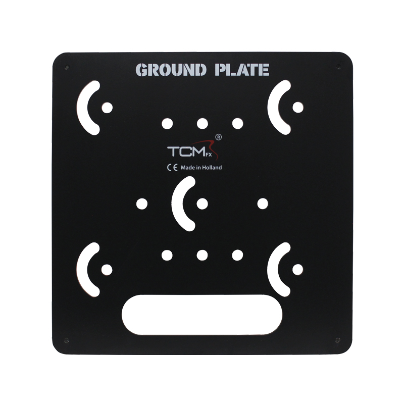 Confetti Maker branded ground plate for use with their range of confetti cannons.