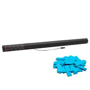 Manufactured by The Confetti Maker - Electric Confetti Cannon 80cm Light Blue
