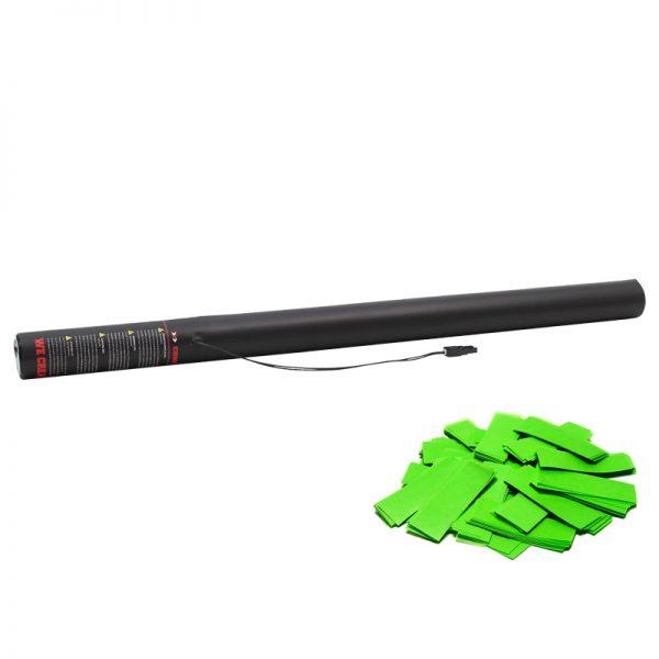 Electric Confetti Cannon 80cm Light Green