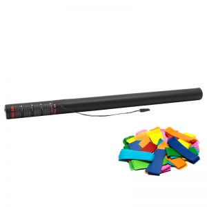 Manufactured in Holland by The Confetti Maker - Electric Confetti Cannon 80cm Multicoloured confetti