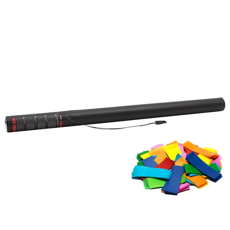 Manufactured in Holland by The Confetti Maker - Electric Confetti Cannon 80cm Multicoloured confetti