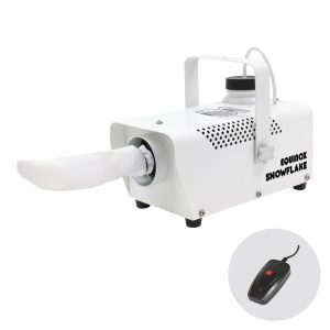 Snowflake Snow Machine with remote control