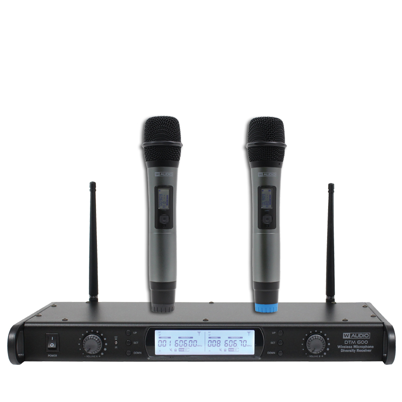 DTM 600H Twin Handheld Diversity System (606 0Mhz-614 0Mhz