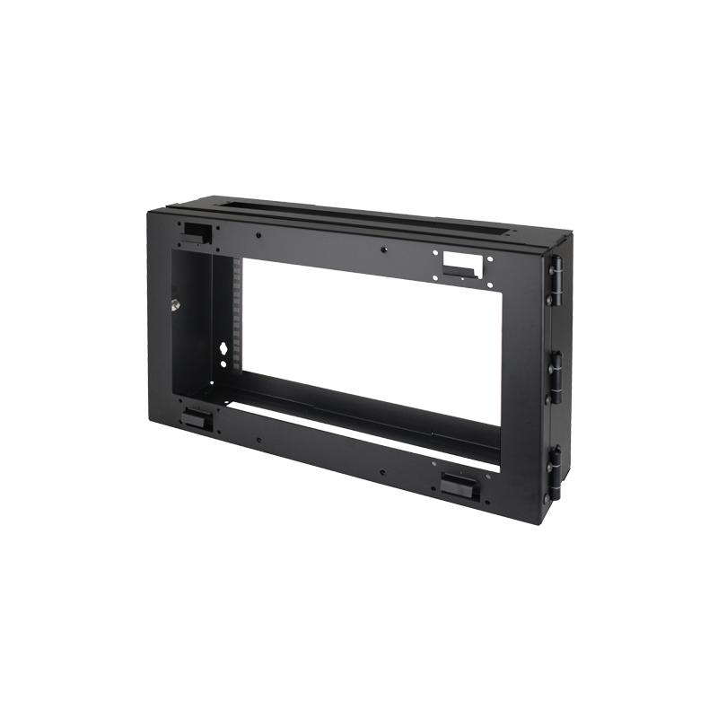 6U Wall Mount Rack Frame (R6400-RHF-6U) | Prolight Concepts