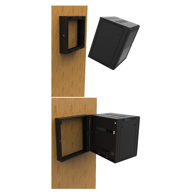 18U Wall Mount Rack Frame R6400-RHF-18U | Prolight Concepts