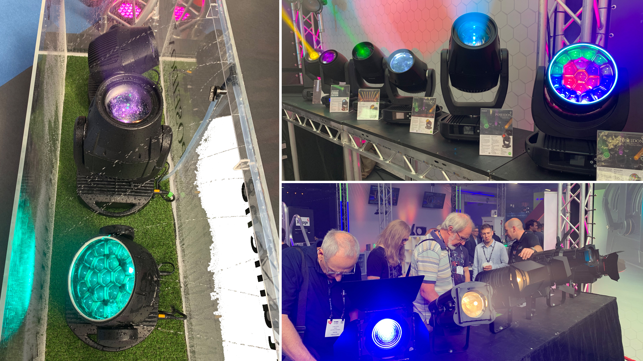 Moving Heads at the Prolight stand