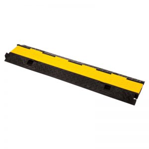 CP 230 2 Channel Cable Ramp with yellow lid